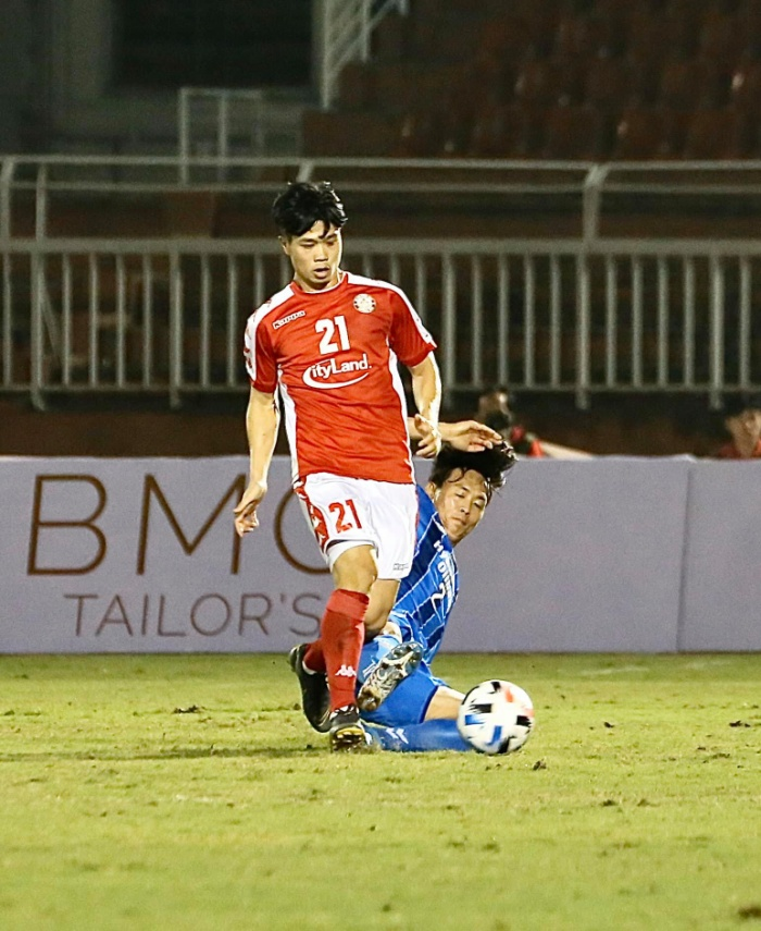 TP.HCM thời gian qua đã có một loạt đấu giao hữu với các đối thủ cực chất lượng đến từ Hàn Quốc. (Ảnh: CLB TPHCM)
