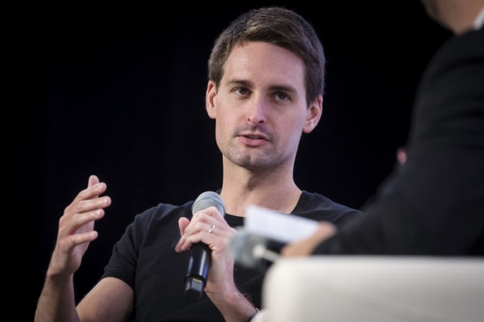 Evan Spiegel (Ảnh: David Paul Morris/Bloomberg)