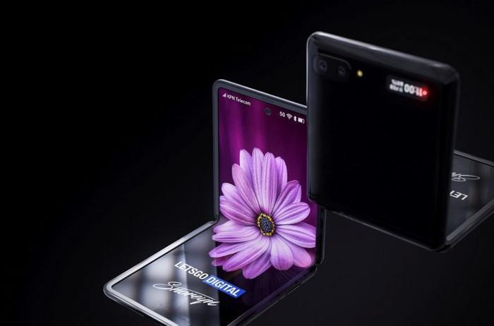 Galaxy Z Flip được kì vọng có giá thành rẻ hơn nhiều so với chiếc Galaxy Fold. (Ảnh: Letsgodigital)