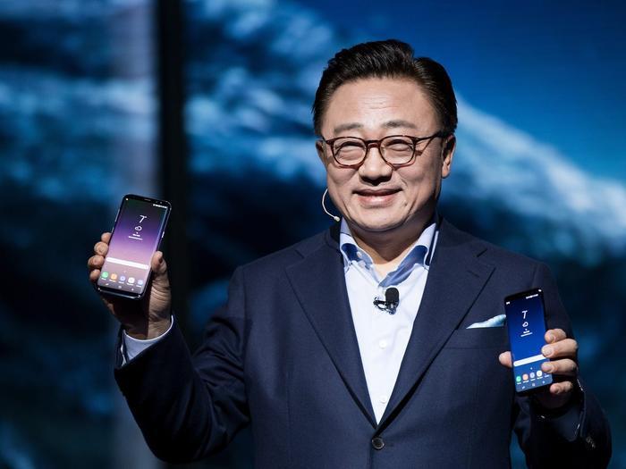 Dj Koh, Chủ tịch mảng truyền thông di động của Samsung. (Ảnh: Getty)