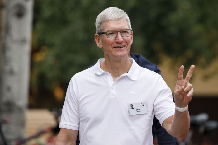 Tim Cook, CEO Apple (Ảnh: Bloomberg)