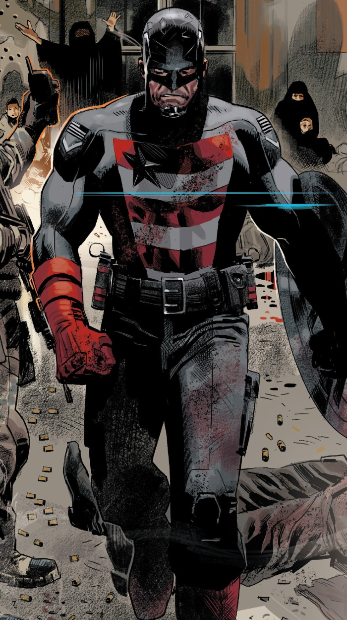 'The Falcon and the Winter Soldier': Chiếc khiên của Captain America sẽ tái xuất
