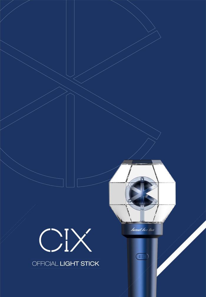 Tân binh CIX đã ra mắt lightstick chính thức.