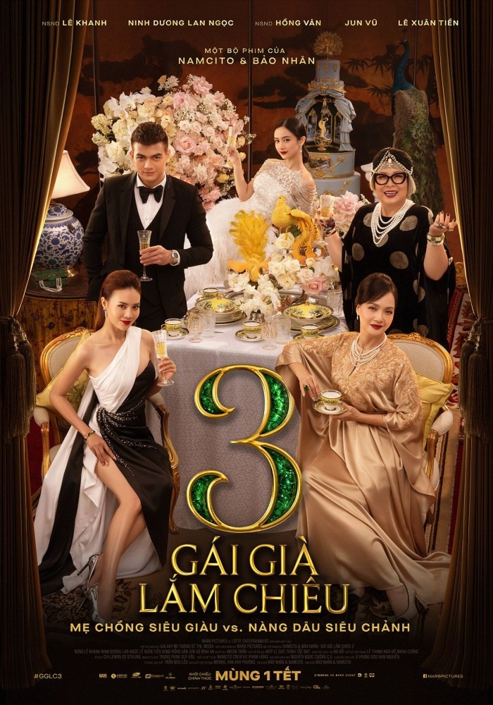 Phim 'Gái già lắm chiêu 3' nhận cơn mưa lời khen từ sau Việt và giới chuyên môn sau suất chiếu ra mắt đầu tiên.