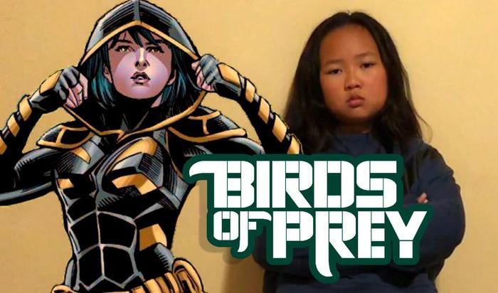 Cassandra Cain, một trong những thành viên sắp xuất hiện trong nhóm Birds of Prey của Harley Quinn