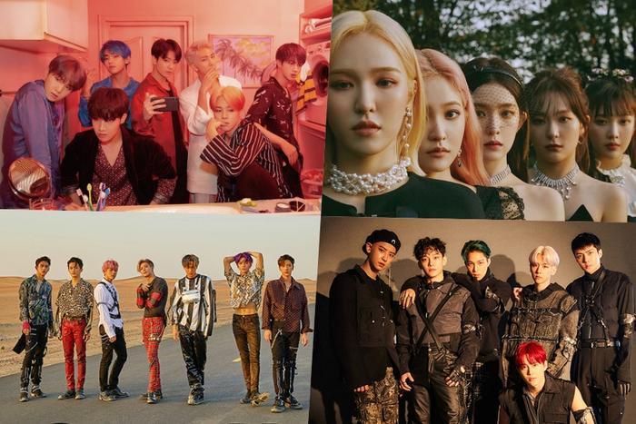 BXH World Album trên Billboard tuần này với nhiều sản phẩm Kpop.