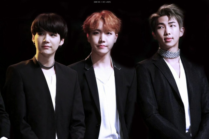 Rapper line của BTS xuất sắc lọt top cả 3