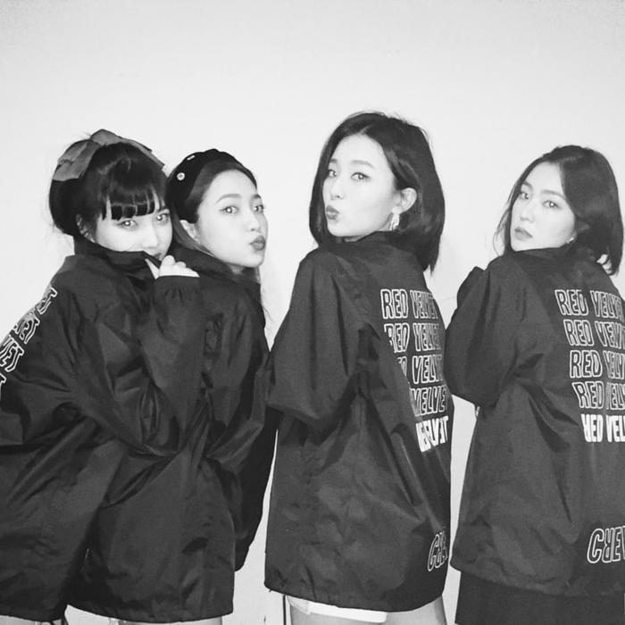 Red Velvet với đội hình 4 người hiện tại.