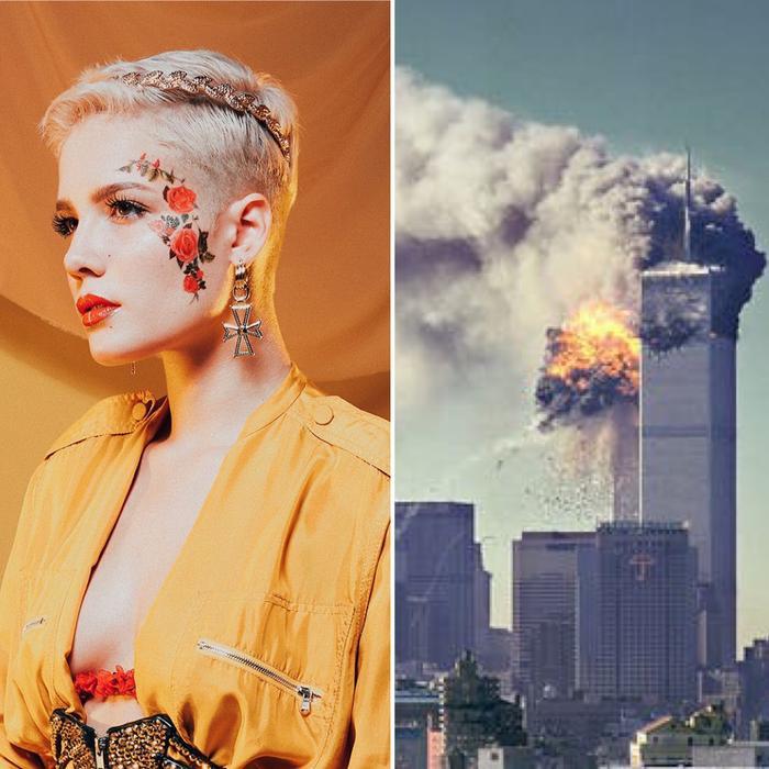 """Halsey không hề hay biết rằng """"căn hầm"""" hiện tại đang chịu trách nhiệm cho Pitchfork chính là One World Trade – nạn nhân cho sự kiện khủng bố đầy thương tâm ngày 9/11/2001."""