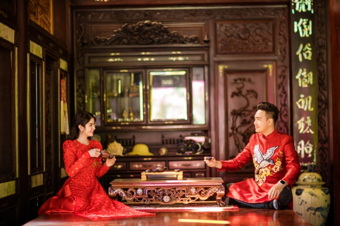 Sau khi tất bật chạy show cuối năm thì, Kha Ly và Thanh Duy thu xếp về quê ăn tết cùng gia đình