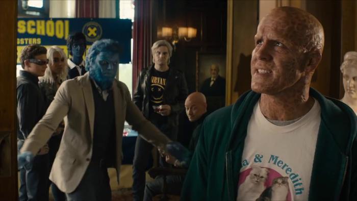 Các dị nhân đã từng 1 lần xuất hiện trong phim riêng của Deadpool với tư cách khách mời đặc biệt