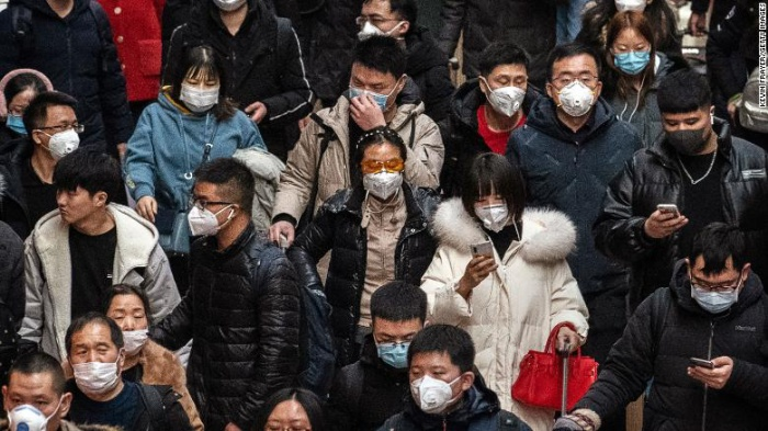 Coronavirus đang khiến người Trung Quốc và cả thế giới lo lắng. (Ảnh: CNN)
