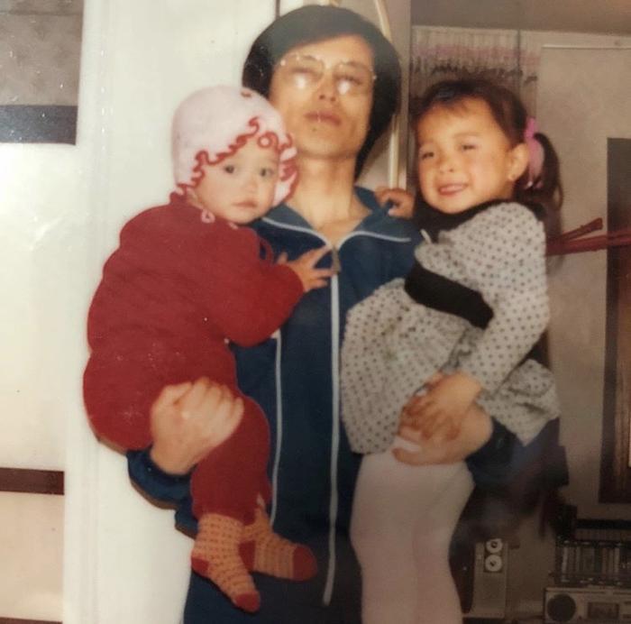 Bố và chị gái của Goo Hye Sun.