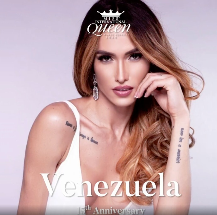 Đại diện Venezuela sở hữu vẻ đẹp quyến rũ, cuốn hút.