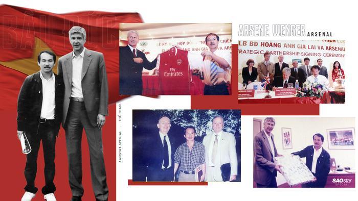 Học viện bóng đá HAGL – Arsenal – JMG là di sản của bầu Đức dành cho bóng đá Việt Nam.