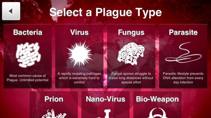 Plague Inc. là một tựa game nổi tiếng lấy bối cảnh là một đại dịch do virus gây ra.