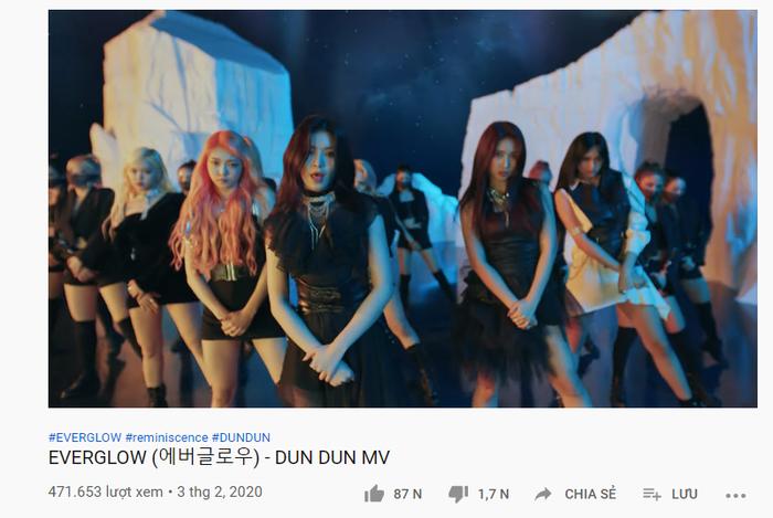 Chưa đầy 30 phút, lượt xem của DUN DUN đã hơn 400.000 view
