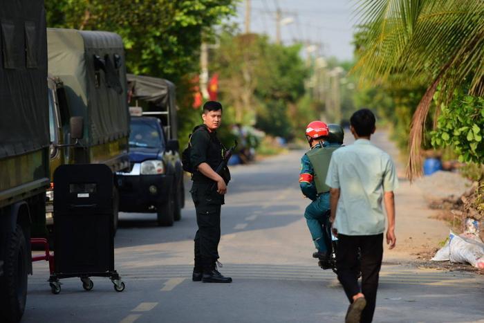Sau nhiều ngày Công an tổ chức truy bắt nghi can Lê Quốc Tuấn nhưng chưa tìm thấy dấu vết. Ảnh: báo Vietnamnet
