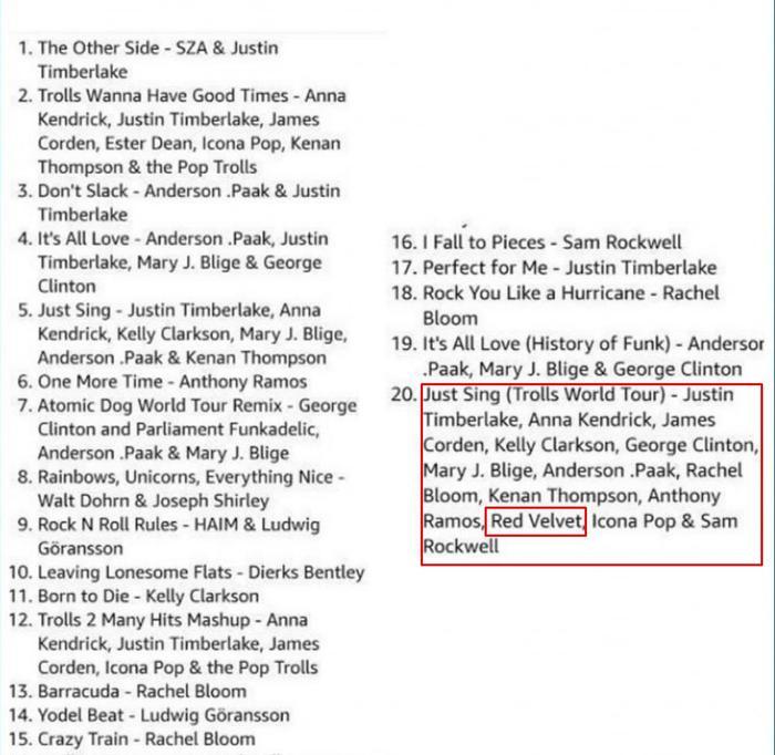 Red Velvet bắt tay cùng Justin Timberlake, Kelly Clarkson, góp giọng trong dự án OST Trolls World Tour? ảnh 0
