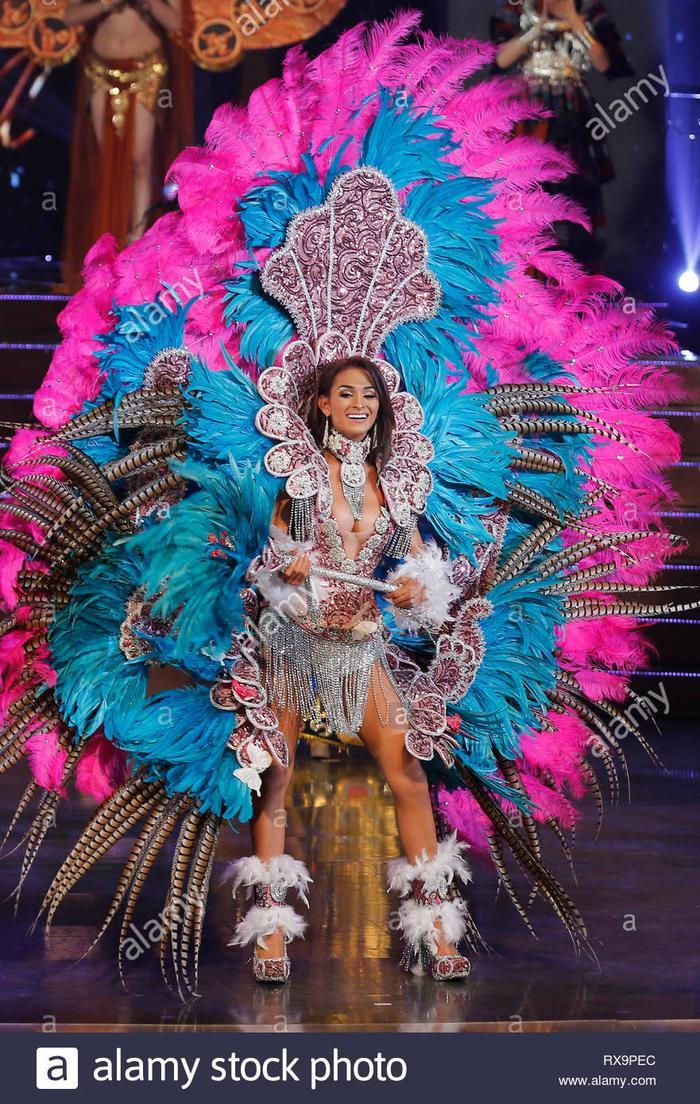 Năm2019 đại diện Nicaragua chiến thắng giải Trang phục dân tộc đẹp nhất.