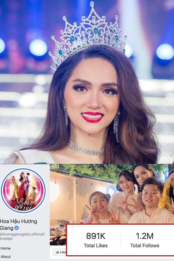 Hoa hậu Chuyển giới Quốc tế Hương Giang cán mốc triệu follow ở cả Facebook  Instagram  Youtube ảnh 2