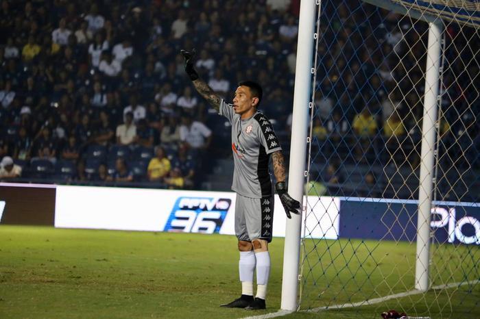 Thủ môn Thanh Thắng thi đấu rất ổn định mùa giải vừa qua.