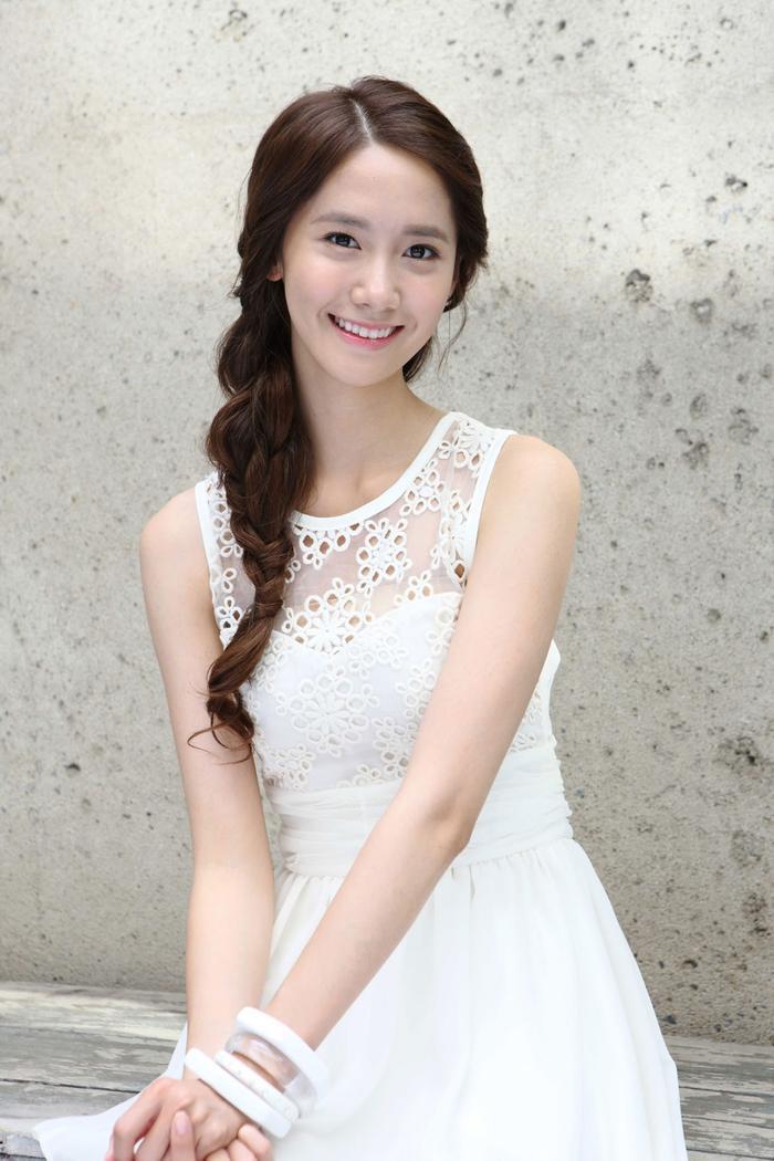 Vẻ đẹp thuần khiết của Yoona thời mới debut.