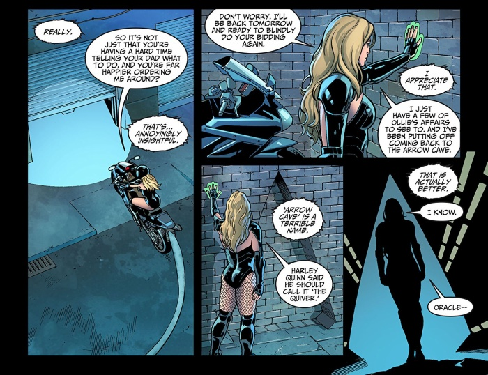 Black Canary trong Injustice.