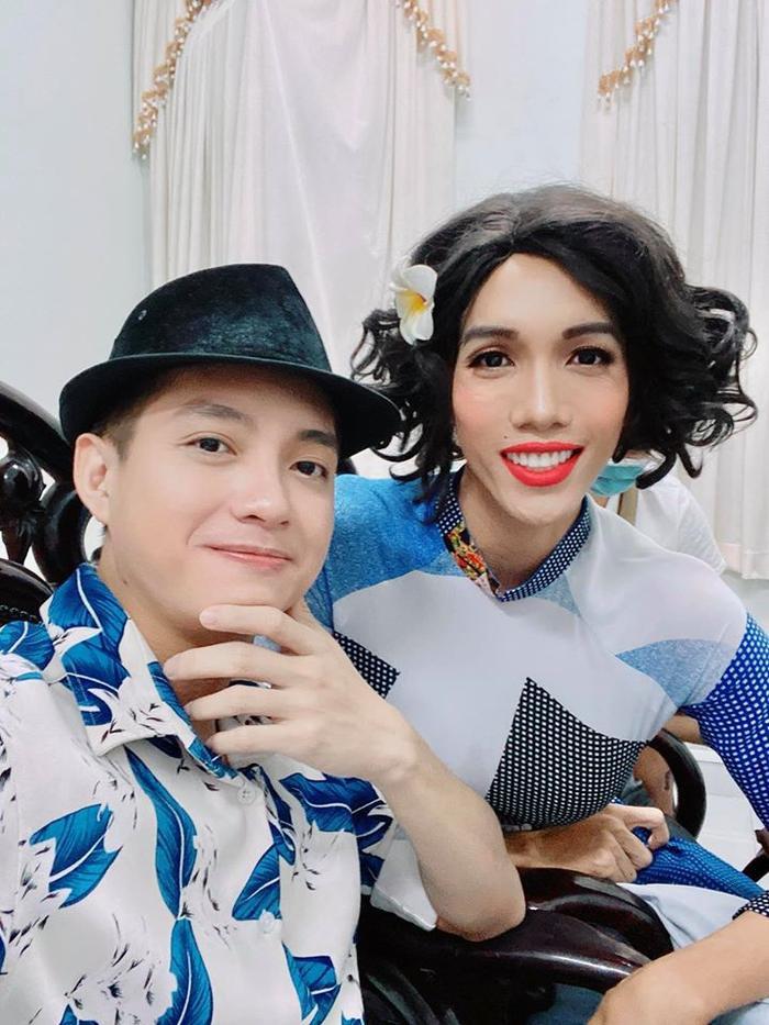 Hữu Đằng và diễn viên Dương Thanh Vàng