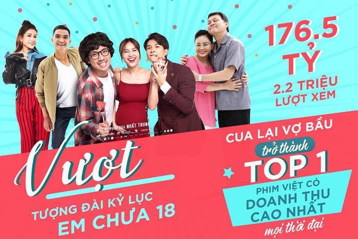 Giữa tâm bão Oscar 2020, Gái Già Lắm Chiêu 3 đạt 165 tỷ, lọt top 5 phim Việt ăn khách nhất sau hai tuần công chiếu! ảnh 2