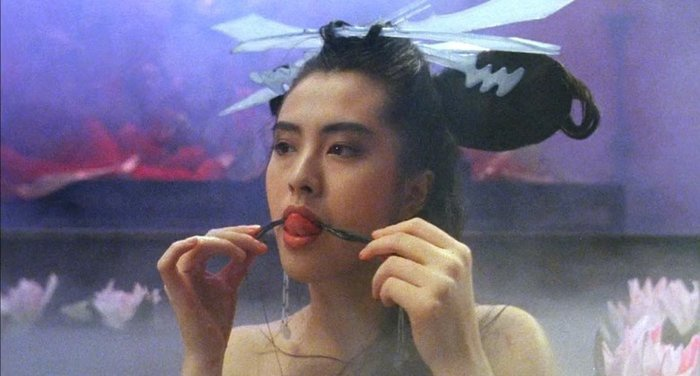 Dương Mịch, Lưu Diệc Phi ăn đứt Trịnh Sảng khi vào vai Nhiếp Tiểu Thiến trong Thiện nữ u hồn ảnh 14