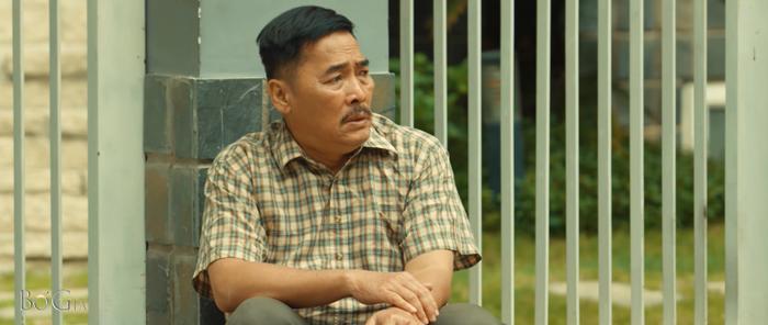 Diễn viên Lê Quốc Nam từng hóa thân thành nhân vật người cha vào tù, ra tội, bị vợ con bỏ rơi trong Bố già.