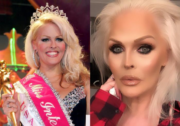 Là người đẹp thứ 2 đăng quang Hoa hậu Chuyển giới Quốc tế vào năm 2005, Mimi Marks đại diện đến từ Mỹ lại không được đánh giá cao về nhan sắc. Thời điểm lên ngôi, nhan sắc của Mimi cũng khá già dặn và thô kệch.