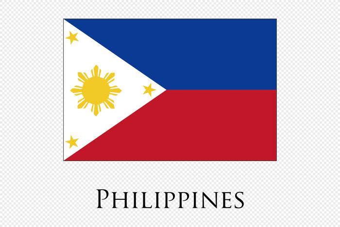 Đỏ – Xanh là một trong 4 gam màu chủ đạo trên quốc kỳ Philippines.