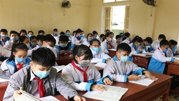 Bộ Y tế: Giáo viên và học sinh không cần đeo khẩu trang. Ảnh minh họa