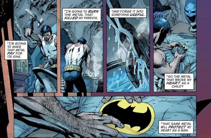 Biểu tượng Batman trên bộ giáp chính là khẩu súng đã giết cha mẹ anh? ảnh 4