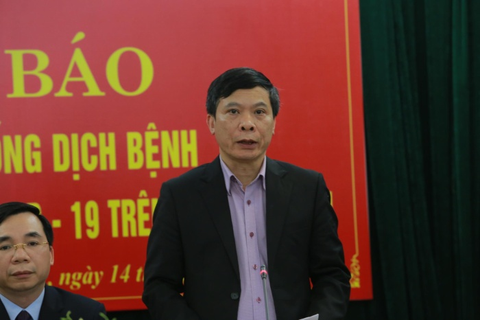 Ông Nguyễn Thanh Hải,Giám đốc Sở Y tế
