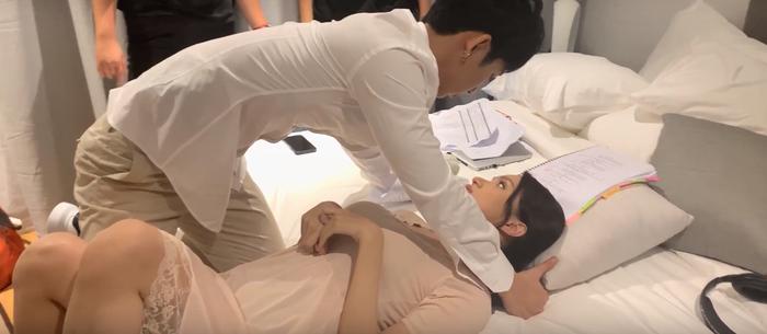 Hương Giang  Tuấn Trần tình tứ mùi mẫn từ trong phim đến ngoài đời thật, fan nghi ngờ đang hẹn hò? ảnh 2