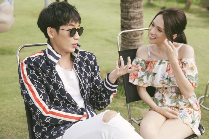 Hương Giang  Tuấn Trần tình tứ mùi mẫn từ trong phim đến ngoài đời thật, fan nghi ngờ đang hẹn hò? ảnh 3