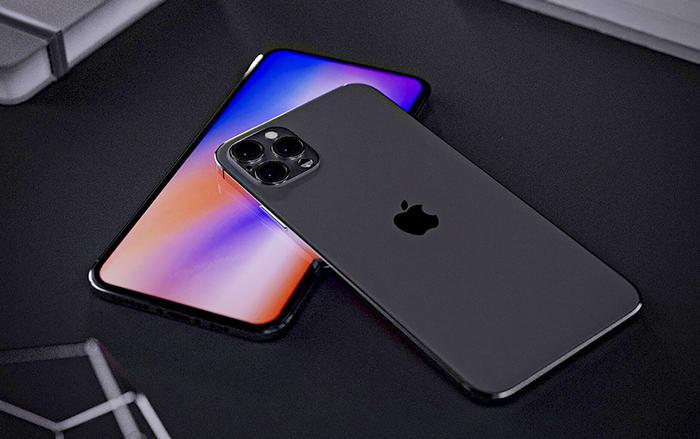 iPhone 12 năm nay được cho là sẽ loại bỏ đi phần khuyết trên màn hình. (Ảnh: Ben Geskin & Smazizg)