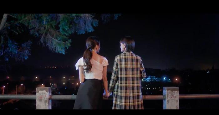 Hình ảnh kết thúc MV Tặng anh cho cô ấy.