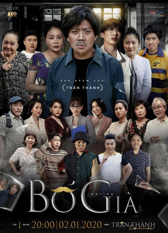 Hậu trường tập 1 'Bố già': Cả ekip làm việc thâu đêm, Hariwon tới tận trường quay thăm ông xã Trấn Thành.