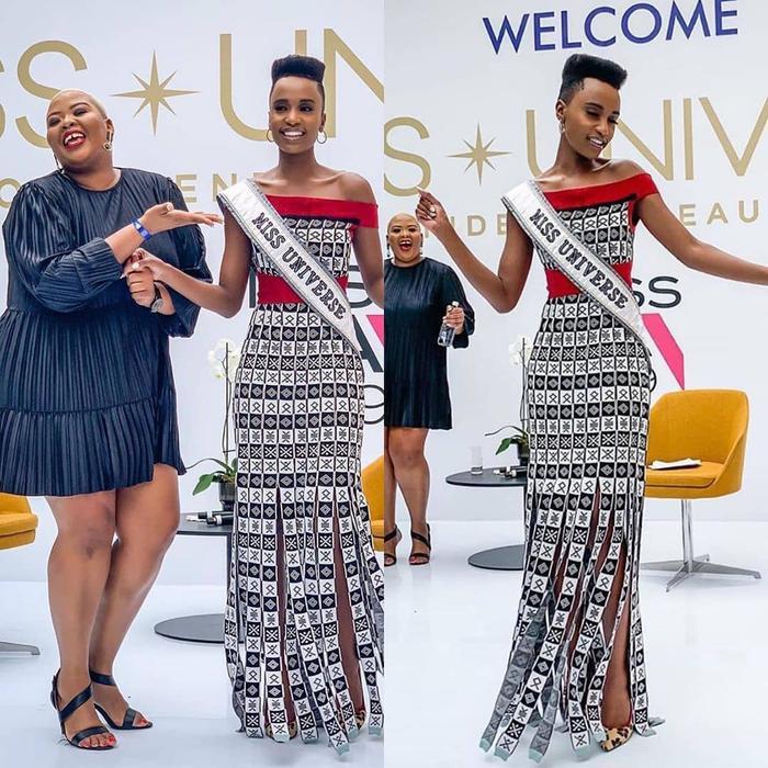 Mặc bikini trắng, Miss Universe 2019 như ngọc đen đẹp sững sờ, fan choáng váng với body ảnh 4