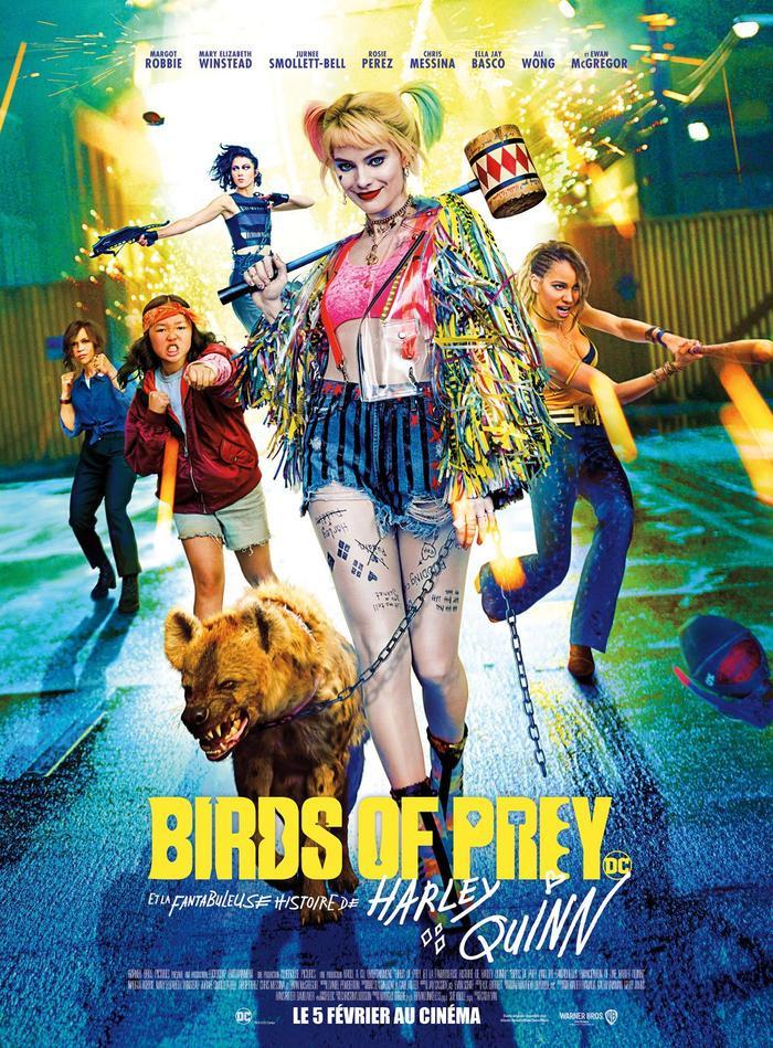 Màu sắc và phong cách Poster khiến nhiều người liên tưởng đến nhân vật Harley Quinn trong Birds of Prey vừa ra mắt cách đây không lâu.