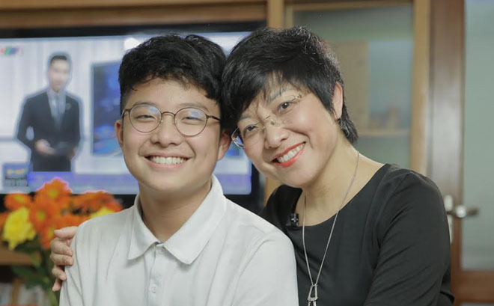 Khoe con trai được ông nội tặng tài sản quý giá, MC Thảo Vân hài hước tiết lộ ngày trước NSND Công Lý từng xin mãi vẫn bị từ chối ảnh 2