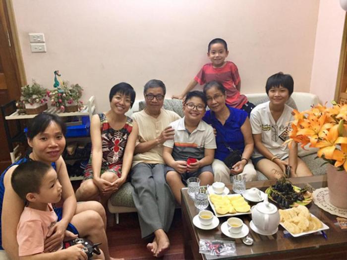 Mối quan hệ tốt đẹp của MC Thảo Vân và gia đình nghệ sĩ Công Lý.