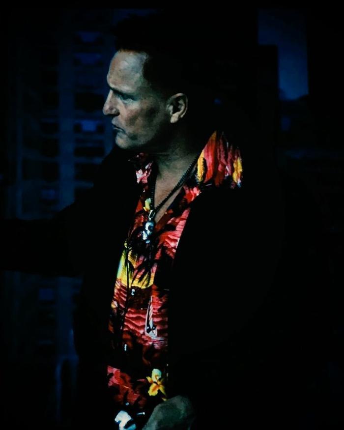 Hình ảnh của Cletus Kasady được chính nam diễn viên Tom Hardy chia sẻ.
