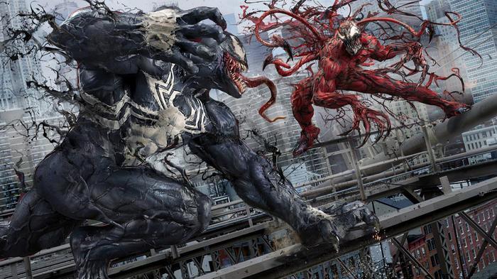 Trận đánh huyền thoại của Venom và Carnage sắp được đưa lên màn ảnh.