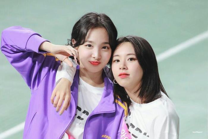 Nayeon và Chaeyoung.