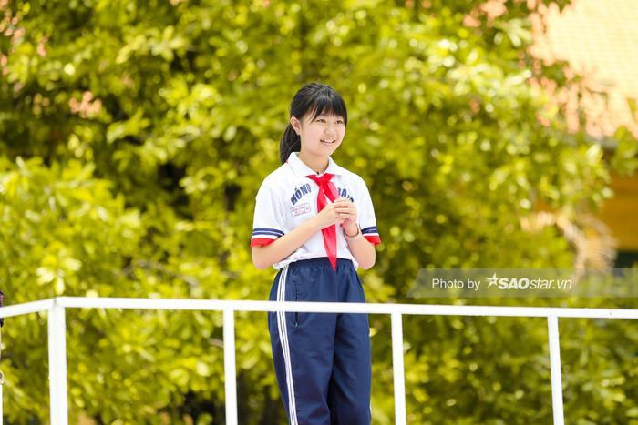 Mỹ Vy – học sinh Trường THCS Hồng Bàng